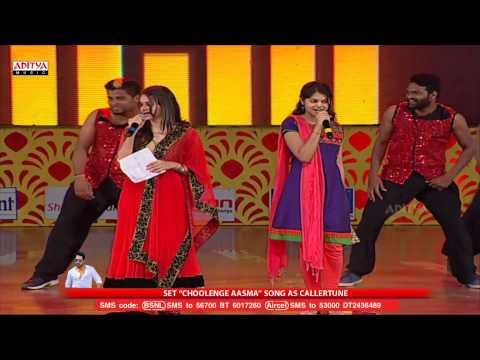 Choolenge Aasma Song Live Performance At Temper Audio Launch - Jr.Ntr, Kajal Agarwal