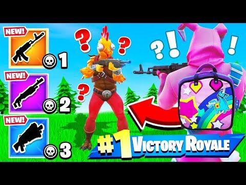 GUN GAME w/ SSundee *NEW* Game Mode in Fortnite Battle Royale! (Challenge)