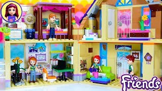 Mia's House Renovations Continued - Home Office & Living Room Extension Lego Friends Build DIY Craft