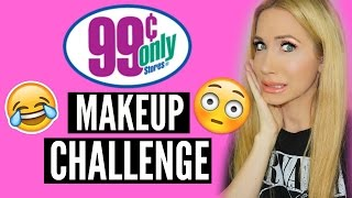 DOLLAR STORE MAKEUP CHALLENGE (OH SWEET JESUS HERE WE GO) by Channon Rose