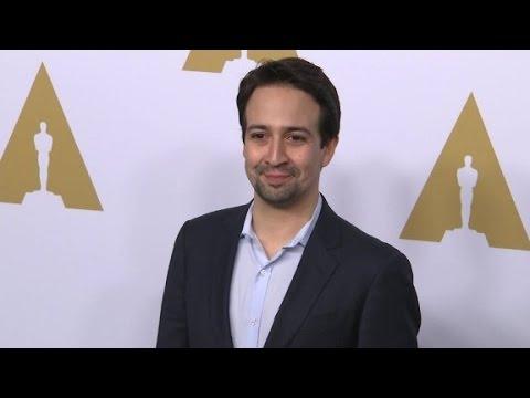 Lin-Manuel Miranda on being an 'Oscar dork'