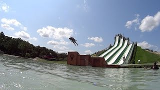 McGregor (TX) United States  city images : Scary Royal Flush Water Slide at BSR Cable Park