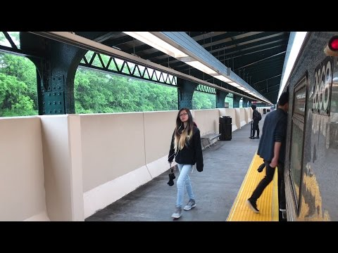 NYC Subway HD 60fps: Riding R68 N Train Along Newly Re-Opened BMT Sea Beach Line (5/22/17) (видео)