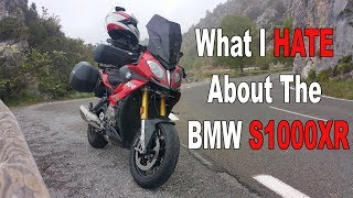 8. What I HATE about the BMW S1000XR and Ride Out