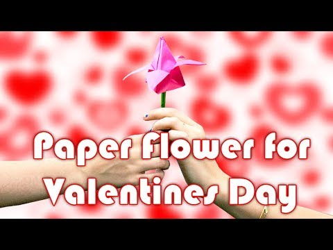 How To Make A Paper Flower That Looks Realistic To Decorate Your