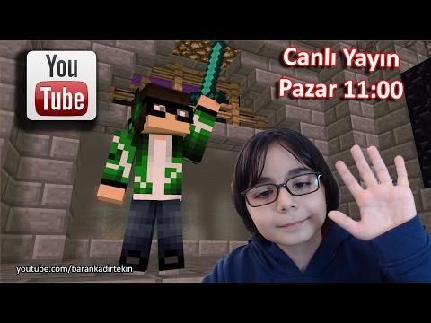 Minecraft Survival Game Serisi #S1 #9 - BKT  | CANLI YAYIN ARŞİV