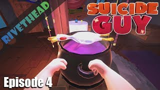 If you want to get the game http://store.steampowered.com/app/303610/Suicide_Guy/ Suicide Guy is a first person action-puzzle ...