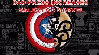 Marvel Said SOmething Stupid again. This is commentary on Axel Alonzo's claim that bad press is good to Sales in the long run.http://variety.com/2017/film/news/comic-book-sales-superhero-movies-1202499029/https://www.bleedingcool.com/2017/07/19/axel-alonso-bad-publicity-marvel-comics/Patreon Pagehttps://www.patreon.com/ilovecomics?alert=2TWITTER :  https://twitter.com/EnglentineVID.ME :  https://vid.me/EnglentineFACEBOOK : https://www.facebook.com/groveofenglentine/Wednesday :  New book and Back Issue Haul videos.Just showing off every new book released, as well as the back issues I was able to find on ebay , in the comic shop , or at garage sales.Thursday :  I love comicsA celebration of why I love or a series or issue I love in comic booksFriday : Having fun with Superhero Movies and Or Video GamesSaturday : Marvel Vs. DCsummarizing the comics that came out the last week , to see who really rules the roost.Sunday : Free Play. Could be another video made for an established topic, or a new idea. Monday : If I wrote A re-imagining of established characters , plot points , stories or movies.Tuesday : Career In Comic Book Covers Take a character, a team or an artist and show every or close to every comic book cover they are on or worked on.IN THE GROVE OF ENGLENTINE HAS NEW VIDEOS EVERY DAY RELATING TO COMIC BOOKS , MOVIES, MUSIC, VIDEO GAMES & SOMETIMES POLITICS. PLEASE CHECK US OUT. DON'T FORGET TO SUBSCRIBE & SHARE, & CHANGE NOTIFICATIONS TO RECEIVE NEW CONTENT