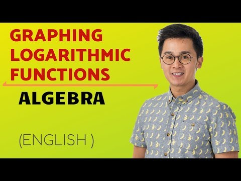 ALGEBRA: Graphing Logarithmic Functions