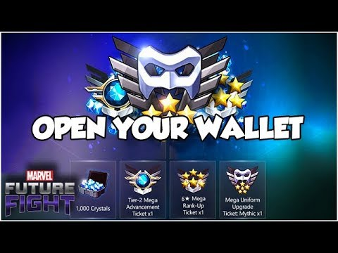 All 3 Mega Tickets?! Possibly the Best Deal Ever - Marvel Future Fight