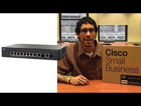 Cisco Small Business SG300-10P PoE Switch Unboxing