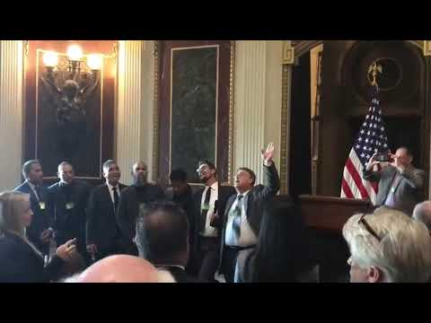Video: Surgoinsville man performs at White House