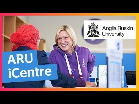 Anglia Ruskin iCentre | What we can do for you