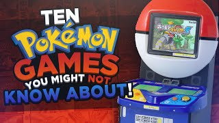 Ten Pokémon Games You Might Not Know About! by HoopsandHipHop
