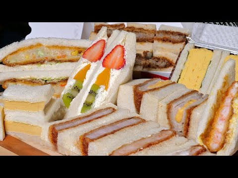 Japanese Sandwiches, better than Sushi or Ramen?  ★ ONLY in JAPAN (видео)