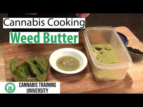 Weed - LOOK AS AWARD WINNING CANNABIS CHEFS REVEAL THEIR SECRETS TO MAKING THE WORLD'S BEST CANNABIS BUTTER! FIND OUT HOW TO MAKE THE CLEANEST, ORGANIC, LOW FAT, DE...