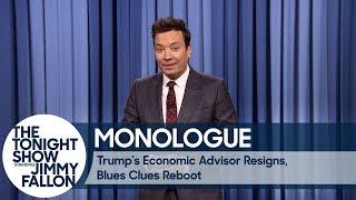 Video Trump's Economic Advisor Resigns, Blues Clues Reboot - Monologue MP3, 3GP, MP4, WEBM, AVI, FLV Juni 2018
