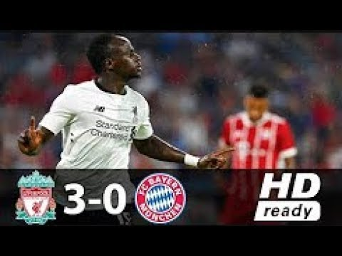 Bayern Munchen Vs Liverpool 0-3 Semifinal Audi Cup Goals & Highlights 01-08-2017 HD