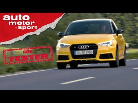 Audi S1: Gelber Giftzwerg mit Allrad - Die Tester | aut ...