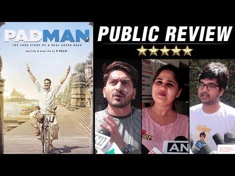 Padman Movie Public Review | Akshay Kumar, Sonam K