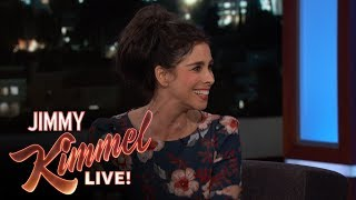Video Sarah Silverman on Near Death Experience & Boyfriend Michael Sheen MP3, 3GP, MP4, WEBM, AVI, FLV Oktober 2018
