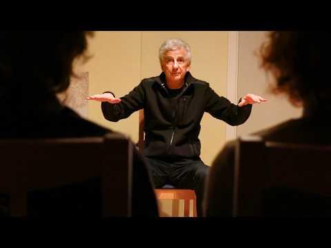 Robert Peroni introducing drumdance 2014 – HOTEL THE RED HOUSE / TASIILAQ / EAST GREENLAND