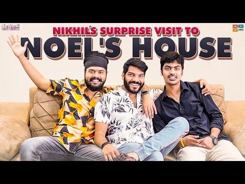Nikhil's Surprise Visit To Noel's House    #SupportHarika