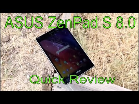 ASUS ZenPad S 8.0 NO BS REVIEW