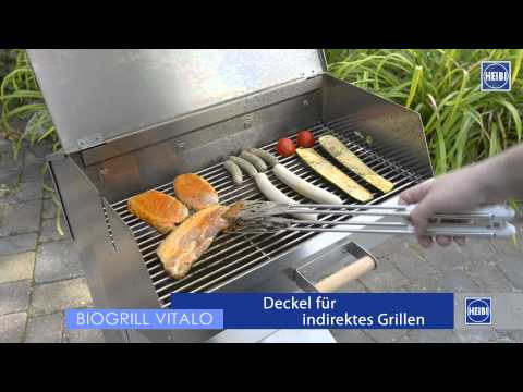 Holzkohlegrill VITALO von Heibi – made in Germany