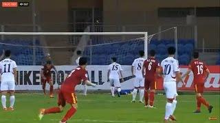 Dong Trieu Vietnam  city images : U19 VIỆT NAM 2-1 U19 TRIỀU TIÊN [Hiệp 1]: CHẤN ĐỘNG | VCK U19 Châu Á