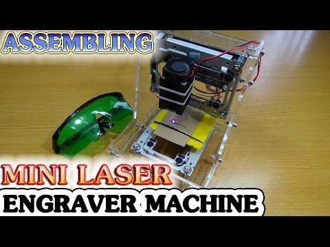 Diy mini laser engraver фотография