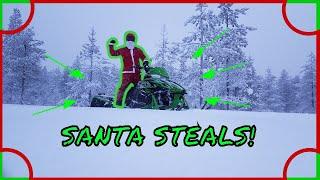 7. Santa Stole My Arctic Cat!
