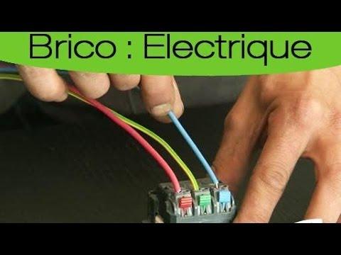 comment installer prise electrique