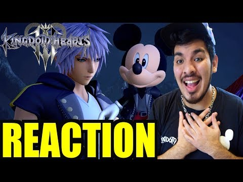 "Kingdom Hearts 3 Theme Song ""Don't Think Twice"" Trailer Reaction (видео)"