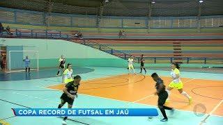 Copa Record: equipes garantem vaga na série ouro durante rodada em Jaú