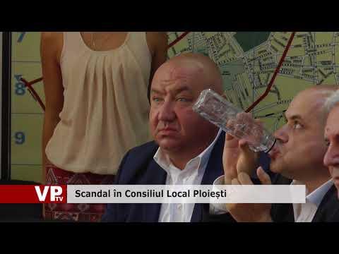 Scandal în Consiliul Local Ploiești
