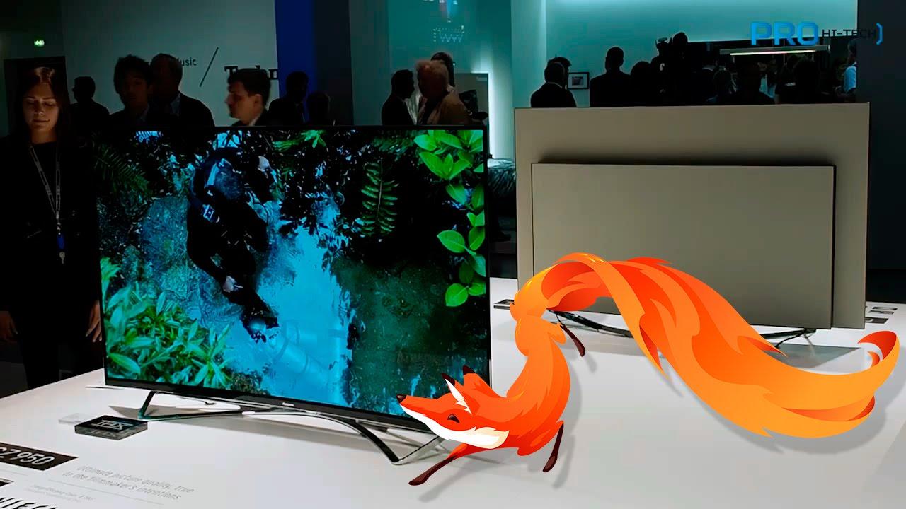 Смотреть онлайн обзор: FirefoxOS на ТВ (не Tizen, не WebOS и не Android TV) и новый флагман Panasonic