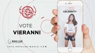 Download Video Vote VIERANNI | Miss POPULAR Batch 3 - Social Media Celebrity 2018 MP3 3GP MP4