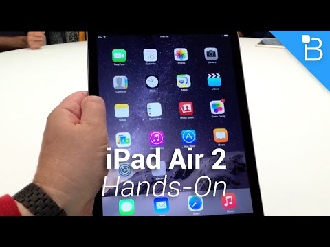 ipad 2 - iPad Air 2 Hands-On iPad mini 3 Hands-On: http://bit.ly/1vjIBCM 5K iMac Hands-On: http://bit.ly/1vjQO9P Not only did the iPhone maker announce a new iPad Air 2, but an update to its iPad...