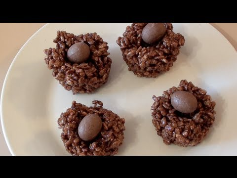 Chocolate Egg Crackles – Video Recipe