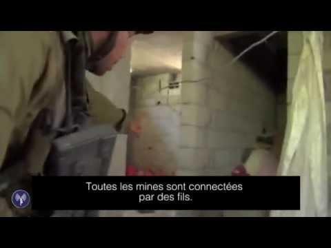 Tsahal découvre une maison remplie d'explosifs à Gaza