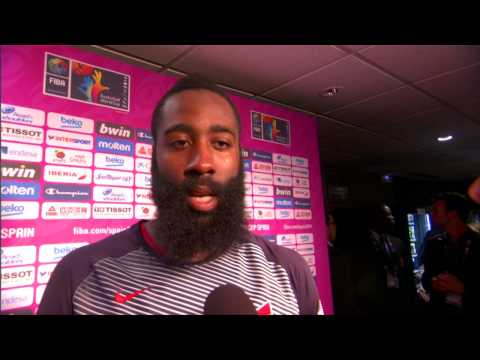James Harden Talks About the Win vs Slovenia