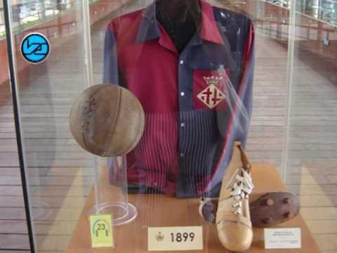 เสื้อแข่งตัวแรกของ บาร์เซโลนา เมื่อ 117 ปีก่อน