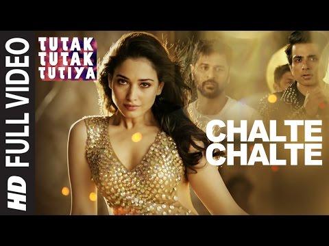 CHALTE CHALTE Full Video Song   Tutak Tutak Tutiya   Arijit Singh  Prabhudeva ,Sonu Sood & Tamannaah
