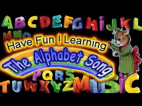ABC - Alphabet - watch this video again and again, your kids will familiar with ABCD within a week.