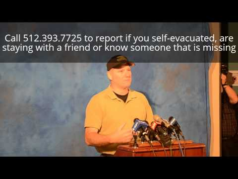 San Marcos Flooding Press Conference May 25, 2015 9AM