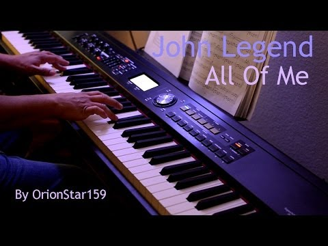 Video John Legend - All Of Me (Piano Instrumental Cover) download in MP3, 3GP, MP4, WEBM, AVI, FLV January 2017