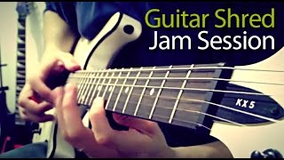 Guitar Shred Jam Session Final 2014
