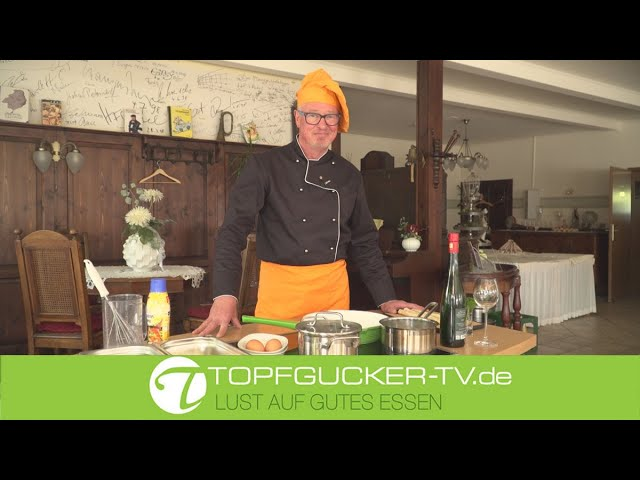 Krustig gebratener Spargel in Käse - Schinkenmantel | Holländische Soße | Topfgucker-TV