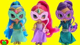 Shimmer and Shine Birthday Masquerade Ball
